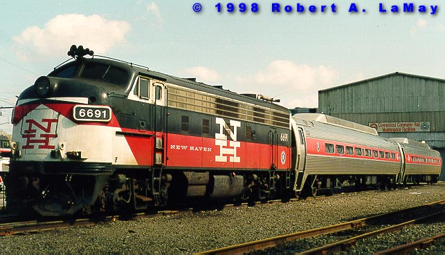 the shore line east commuter railroad in pictures robert a lamay